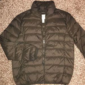 Green puffer coat for winter ❄️